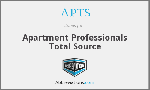 APTS - Apartment Professionals Total Source