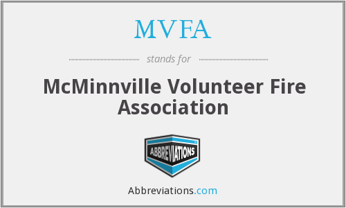 MVFA - McMinnville Volunteer Fire Association