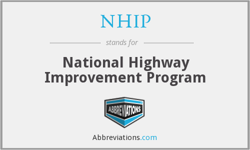 NHIP - National Highway Improvement Program