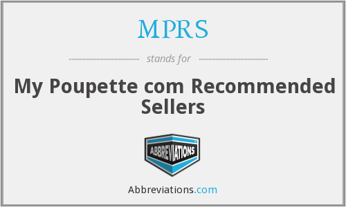 MPRS - My Poupette com Recommended Sellers