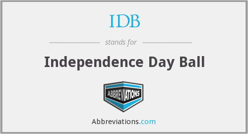 IDB - Independence Day Ball