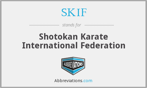 What does SKIF stand for?
