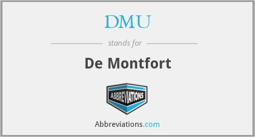 DMU - De Montfort