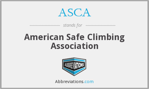 ASCA - American Safe Climbing Association