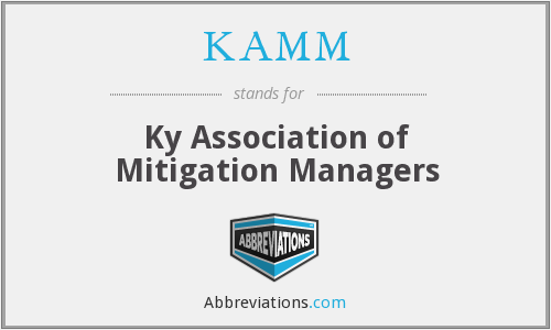 What does KAMM stand for?