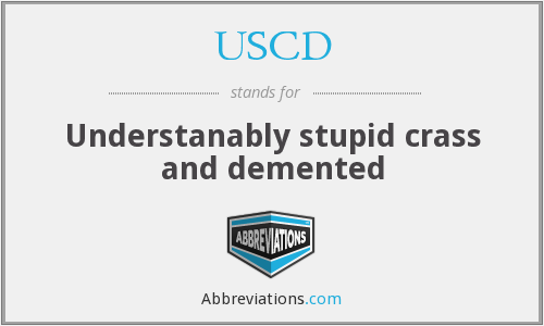 What does USCD stand for?