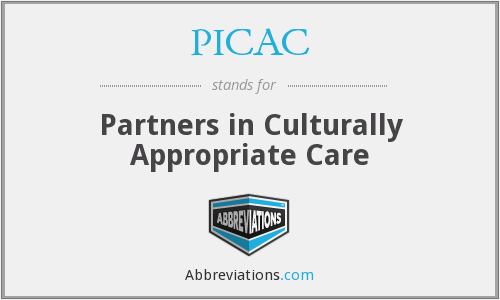What does PICAC stand for?
