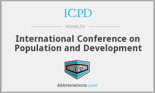 What does ICPD stand for?