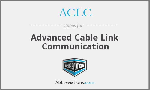 ACLC - Advanced Cable Link Communication