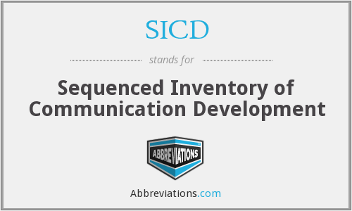 What does SICD stand for?