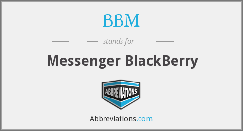 BBM - Messenger BlackBerry