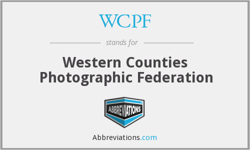 WCPF - Western Counties Photographic Federation