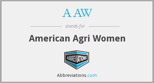 AAW - American Agri Women
