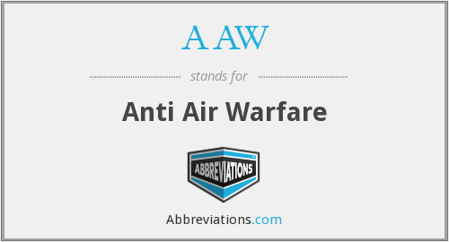 AAW - Anti Air Warfare