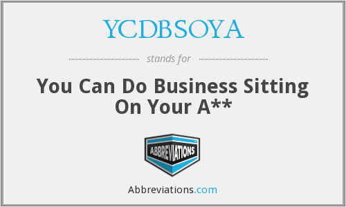 What does YCDBSOYA stand for?