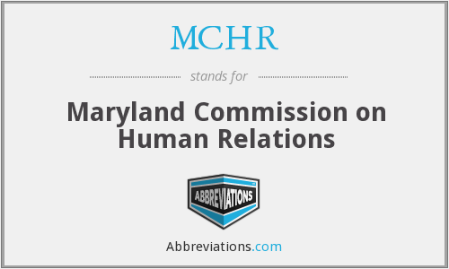 What does MCHR stand for?