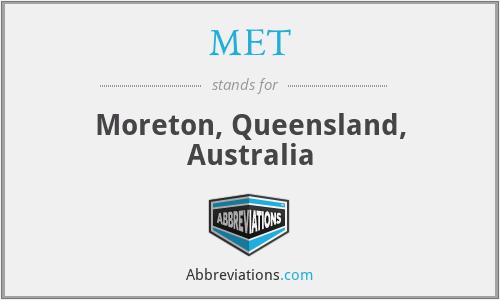 MET - Moreton, Queensland, Australia