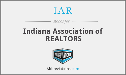 IAR - Indiana Association of REALTORS