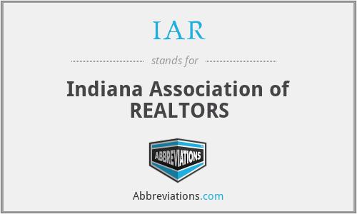 IAR - Indiana Association of REALTORS