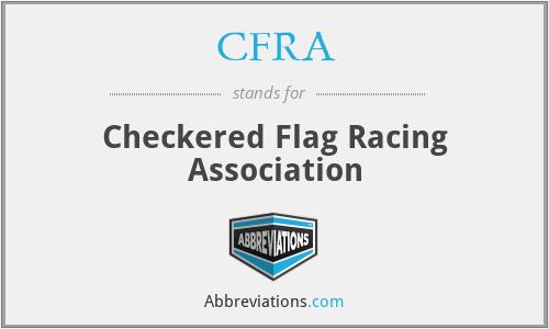 CFRA - Checkered Flag Racing Association