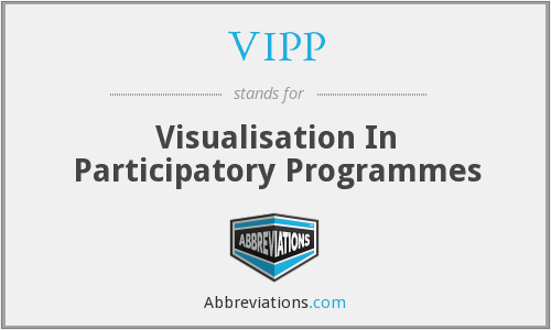 VIPP - Visualisation In Participatory Programmes