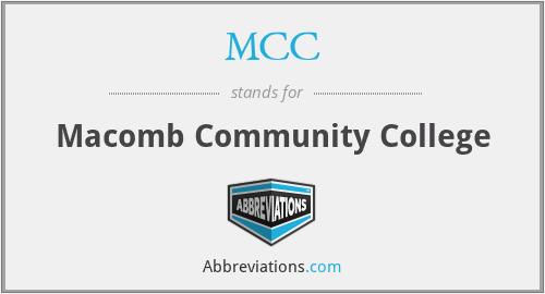 MCC - Macomb Community College