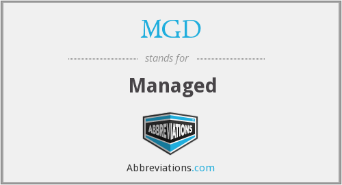MGD - Managed