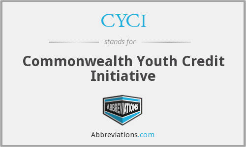 CYCI - Commonwealth Youth Credit Initiative