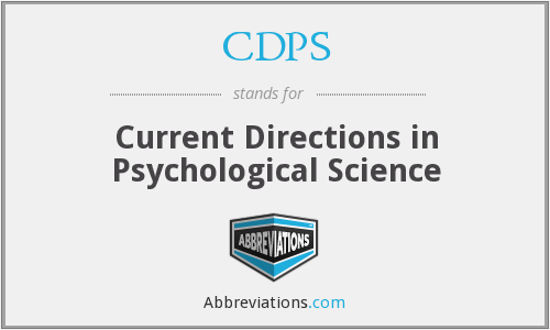 What does CDPS stand for?