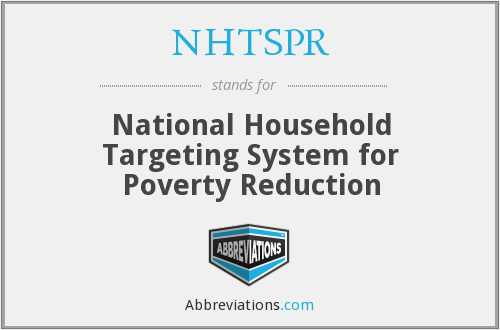 What does NHTSPR stand for?