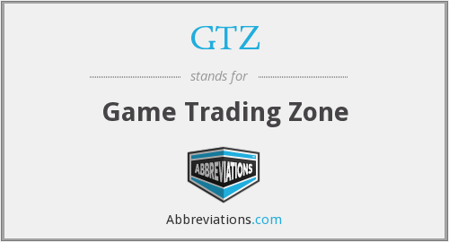 GTZ - Game Trading Zone