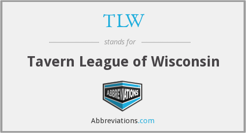 TLW - Tavern League of Wisconsin