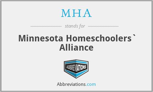 MHA - Minnesota Homeschoolers` Alliance