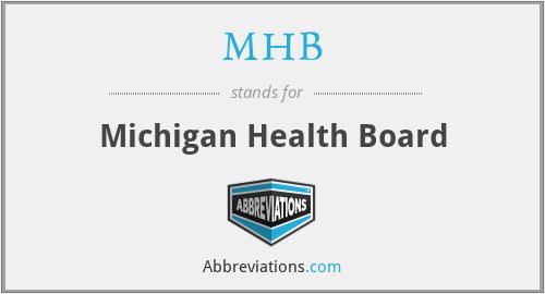 MHB - Michigan Health Board
