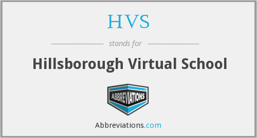 HVS - Hillsborough Virtual School