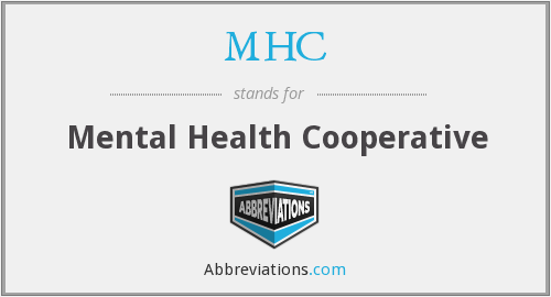 MHC - Mental Health Cooperative