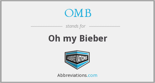 OMB - Oh my Bieber