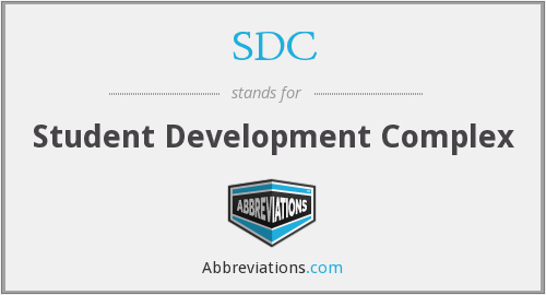 SDC - Student Development Complex