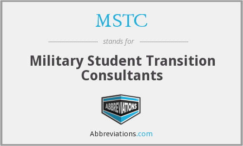 MSTC - Military Student Transition Consultants