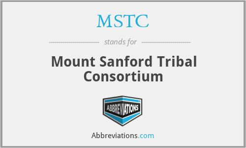 MSTC - Mount Sanford Tribal Consortium