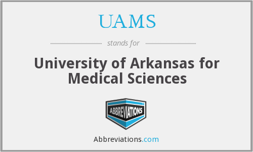 What does UAMS stand for?