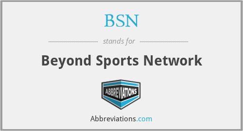 BSN - Beyond Sports Network