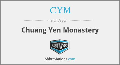 CYM - Chuang Yen Monastery
