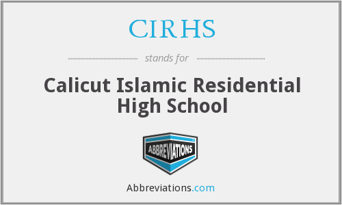 What does CIRHS stand for?