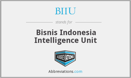 What does BIIU stand for?