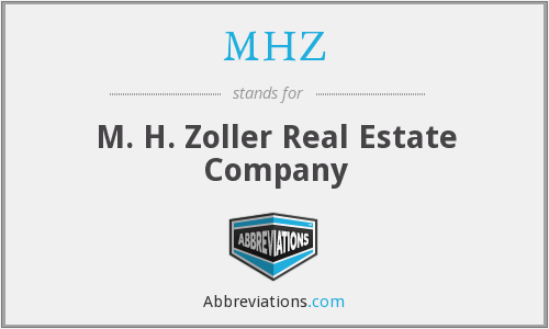 MHZ - M. H. Zoller Real Estate Company