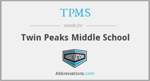 TPMS - Twin Peaks Middle School