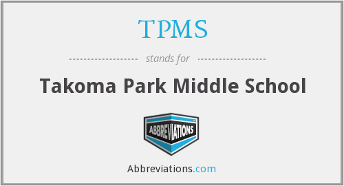 TPMS - Takoma Park Middle School