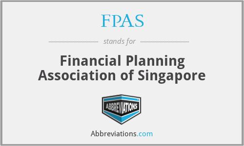 FPAS - Financial Planning Association of Singapore