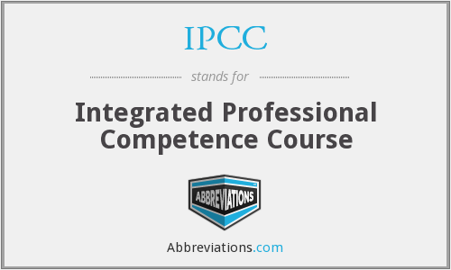 IPCC - Integrated Professional Competence Course